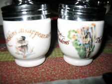 2 Royal Worcester Egg coddlers Peter Pan Neverland England must sell reduced