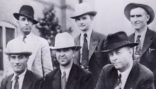 Six Man Posse Who Killed Bonnie & Clyde May 23 1934 7x4 Inch Reprint Photo