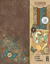 STEAMPUNK Artful Card Making Kit Paper Crafting HOT OFF THE PRESS 7285 New