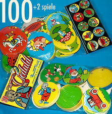 100 MANURBA GEDULDSSPIEL EINLEGER ORIGINAL 70er + 2 SPIELE IM BEUTEL   HEINERLE