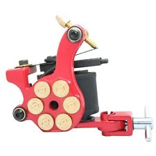 RED BULLET CAMERA PROFESSIONAL Tattoo Machine For Power Supply PISTOLA Clip Cord