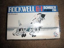 Rockwell B-1 Bomber Model Kit - 1:260 Scale - made in Japan package sealed