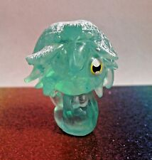 Moshi Monsters Winter Wonderland #72 CALI Green Moshling Mini Figure Mint OOP