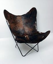 Classic Cover Cowhide Leather BKF Butterfly Chair - Only Cover