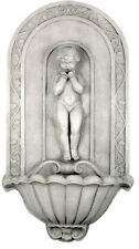Blowing Kiss Angel Cupid Wall fountain 39.5""