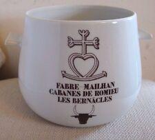 France Porcelaine de Paris Fabre-Mailhan Planter Cachepot Jardiniere Bull Mark