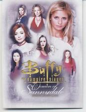 INKWORKS BUFFY THE VAMPIRE SLAYER WOMEN OF SUNNYDALE 90 CARD COMPLETE SET