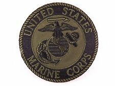 "MARINE CORPS USMC SUBDUED PATCH LOGO SEMPER FI BRAND NEW 3"" IRON-ON"