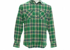 MATIX Popshot Flannel Shirt (M) Green