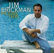 Jim Brickman : Picture This CD (1997) 13 selections - BMG Direct