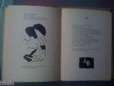 Georges Hugnet Illustrations de Jean ARP E/O 1943 Dédicace signé à René Dulsou