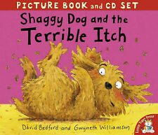 Preschool Story Picture Book & CD - SHAGGY DOG AND THE TERRIBLE ITCH - NEW