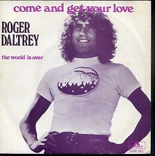 7inch ROGER DALTREY come and get your love RARE DUTCH 1975 EX+ +PS THE WHO