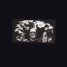 ROCK REBEL OFFICIAL LICENSED UNIVERSAL MONSTERS GOTHIC PATCH. HALLOWEEN. HORROR.