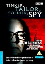 BBC DRAMA = TINKER TAILOR SOLDIER SPY star ALEC GUINNESS = VGC 2 DISC SET