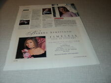 I091 BRITNEY SPEARS BARBRA STREISAND A1 COLDPLAY KD LANG '2000 ENGLISH CLIPPING