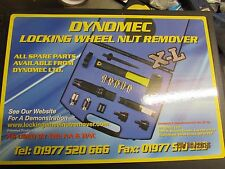 DYNOMEC X-L Locking Wheel Nut Remover Set as used by the AA and RAC..LATEST KIT