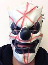 Slipknot Style Mask Shawn Latex Scary Clown Fancy Party Heavy Download Festival