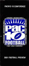 2001 PAC 10 FOOTBALL PREVIEW PACIFIC 10