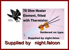 NEW-GHD COMPATIBLE 70 ohm HEATER ELEMENT & THERMISTOR