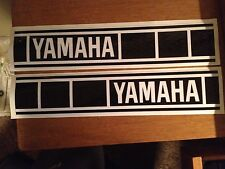 """Yamaha Fuel Tank Decals Vintage Gas Tank 3 3/16""""x16 YZ125 YZ250 YZ465 Perforated"""