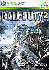 Call of Duty 2 GAME Microsoft Xbox 360 COD COD2 II COD II