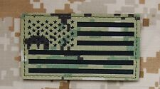 Infrared NWU Type III IR US Flag Patch AOR2 Navy SEAL NSW #TEAMS DEVGRU VELCRO®