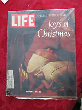 Life Magazine December 15, 1972. Joys Of Christmas great ads and articles