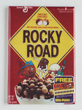 Rocky Road Cereal Box FRIDGE MAGNET (2 x 3 inches) chocolate marshmallow