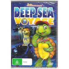 DVD DEEP SEA VOYAGE A FRANKLIN & FRIENDS ADVENTURE Family Animated G R4 [BNS]