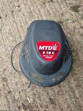 MTD e 18 C eléctrico piezas Cortacésped rotativo-Motor de 1600w y cubierta