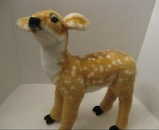Baby Deer Stuffed Animal Plush Standing Spotted Fawn