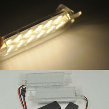 2x Warm LED License Plate Lights For OPEL Zafira B Astra H Corsa D Insignia