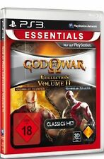 Sony PS3 Playstation 3 God of War Collection 2 Chains of Olympus+Ghost of Sparta