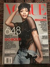 Vogue Magazine Rihanna March 2014 648 Pages Karl Lagerfield