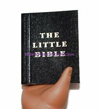 Bible Small Black Leatherette Doll Clothes Accessory For 18 in American Girl