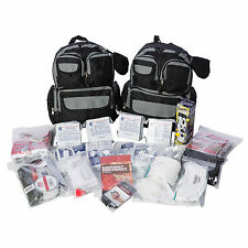 EZ Urban Survival Bug-out Bag - 4 Person for 72 hours, Family Survival Kit,