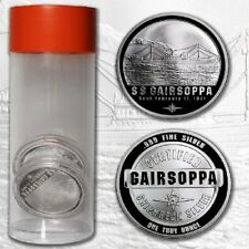 1 oz .999 Silver Certified shipwreck SS Gairsoppa WWII lost treasure recovered #