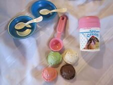 Fisher Price Fun with Food Ice Cream Dessert Scoop Strawberry Chocolate Mint toy