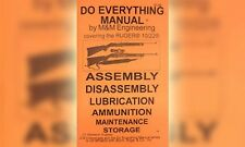 Ruger 10/22 10-22 1022 Do Everything Gun Manual Book Guide