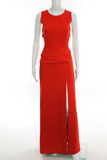 BCBG Max Azria Red Sleeveless Open Back Charlize Gown Size 6 New $398 10299098