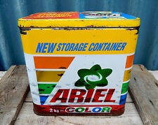 Ariel Color Detergent Washing Powder Storage Tin - Laundry - Kitchenalia
