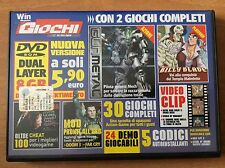 DVD WIN MAGAZINE giochi completi per PC GUN METAL  BILLY BLADE e altri