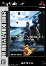 Used PS2  Front Mission 5: Scars of the War SONY PLAYSTATION 2 JAPAN