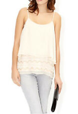 MONSOON Pearl Cami Ivory Top BNWT