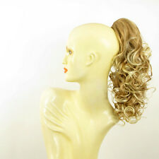Hairpiece ponytail curly 15.75 light blond copper wick light blon 3/27t613 peruk