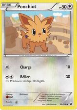 Ponchiot -N&B:Explorateurs Obscurs-86/108-Carte Pokemon Neuve France