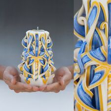 Christmas Gifts Gift for wife candles Sculpted Hanmade decorative candle 7 inch