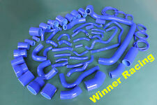 silicone radiator & turbo hose kit fit for Nissan 300ZX VG30DETT Z32 1990-1999