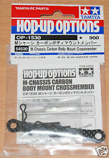 Tamiya 54530 M-Chassis Carbon Body Mount Crossmember (M05/M05Ra/M06), NIP